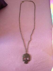 Bigiotteria Collana con pendente teschio -  fashion jewelry necklace skull