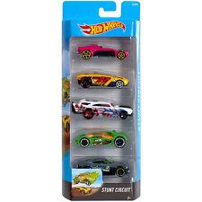 Hot Wheels Stunt circuito VEHÍCULO DE DIECAST ESCALA 1:64 coches 5-Pack (DJD25) Mattel