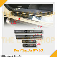 TLS For BT-50 12-20 Stainless Steel Scuff Plates Door Sills Protector NOT BLACK