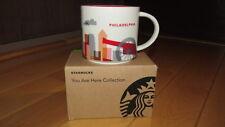 "Brand New Starbucks Philadelphia ""You Are Here"" Collection 14 oz. Coffee Mug"