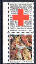FRANCE TIMBRE CROIX ROUGE AVEC VIGNETTE 2392 ** MNH G RETABLE ISSENHEIM - 1985