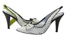Miss Sixty NILDA Off White Leather Woman Sandal Sz 38 E