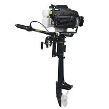 New 4 Stroke 4 HP Outboard Motor 44CC Boat Engine With Air Cooling System
