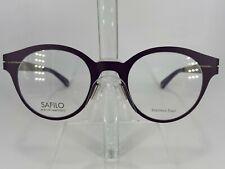 Safilo Marcel Wanders SAW004 Women's Metal Eyeglass Frame TIO Purple NEW w/Case!