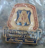 Carpenters n Joiners Brotherhood UBC Training Center LAS VEGAS UNION LABOR PIN