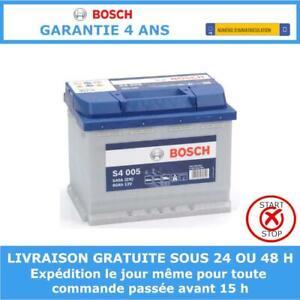 S4005 Bosch 12V 60Ah Batterie de Voiture Robuste 027 S4 005