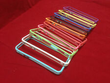 lot of 10 CLEAR TRANSPARENT TPU SLIM BUMPER FRAME CASE FOR IPHONE 5S SE 5