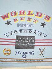 Vintage Spalding: Worlds Best Baseball Equipment Apparel T Shirt M