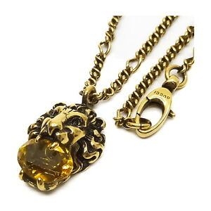 Gucci Necklace  Gold Yellows  1529091