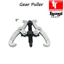 """6"""" inch 2 Jaw Gear Puller Reversible Sprocket Bearings Pulley Tool Separator"""