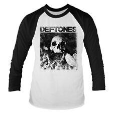 Deftones - Skull - Official Men's 3/4 Sleeve Baseball T-Shirt