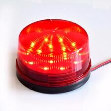 Security Alarm Strobe Signal Safety Warning Red Flashing LED Bright Light12V E7C