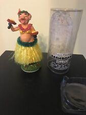 Lovely Hawaiian dashboard hula doll Pig