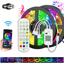 5M 5050 RGB Flexible LED Strip Lights Tape 300Led + 24key wifi Remote Controller
