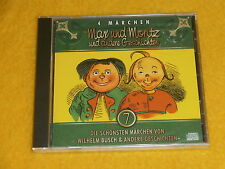 Kinder Hörbuch CD Max und Moritz und andere Geschichten*Wilhelm Busch*NEU & OVP