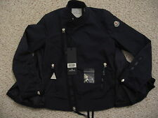 Moncler -Barneys New York-  Hachi F Womens moto jacket coat-NWT-in Navy-Size 3