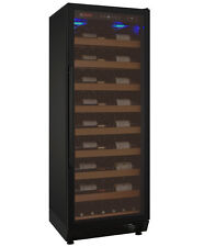 Allavino 115 Bottle Wine Cooler Refrigerator Black Glass Door Wine Cellar Fridge
