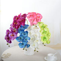 1pcs Artificial Butterfly Orchid Flowers Fake Flower Wedding Party Home Decor