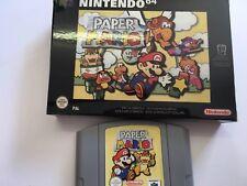 N64 Paper Mario Brand New Game UK Pal Version Testd Bargain Box Cart No Manual 9