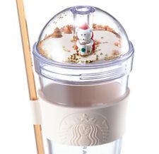 Starbucks KOREA 2017 Autumn Coffee village figure cold cup 473ml 1ea (Popular)