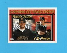 BASEBALL CARD-TOPPS 1994-n.790-COMING ATTRACTIONS-FANEYTE+PHILLIPS
