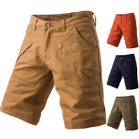 Casual Men Summer Army Combat Camo Work Cargo Short Shorts Pants Trousers 30-40