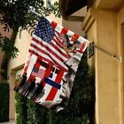 Proud To Be A Veteran US Army Flag Patriotic 3D Decor Flag