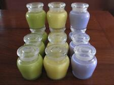 12 x Small Honey Pot Scented Soy Wax Candles  $6.50 each SELL YOUR OWN CANDLES