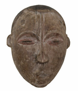 Antique Mask Idoma Art Tribale Customary Law African Of Nigeria 17229