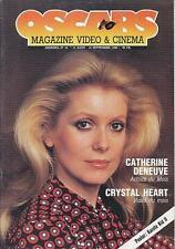 OSCARS 10 (15/8/86) CATHERINE DENEUVE DOC SAVAGE ALAIN DELON PARILLAUD