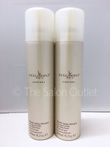 Neal & and Wolf Control Flexible Styling Hairspray 2 x 250ml Duo (£7.60 Each)