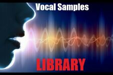 Vocal Sample Pack Library – Royalty Free Vocals Collection For Music Production