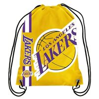 NBA Los Angeles Lakers Drawstring Backpack Gym Bag