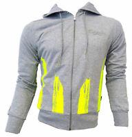 Felpa maglia Carlsberg Uomo Men Full Zip Cappuccio hood Grigia Grey CBU2572