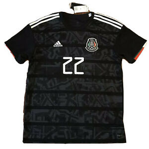 2019 Mexico Home Jersey #22 Hirving Lozano XL Gold Cup Football Soccer NEW