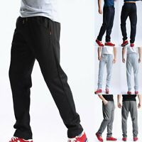 Men Long Sport Pants Gym Slim Fit Trousers Running Joggers Gym Sweatpants Casual
