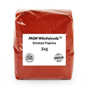Smoked Paprika Powder Premium Quality! Select Size 50g-2kg FREE P&P