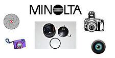 MINOLTA MD ROKKOR-X. 50 MM 1.7. MANUAL FOCUS LENS W/ LENS DIFFUSER & CAP.