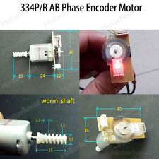 AB Two Phase Pulse Enoder Motor Small Mini Tachometer Motor Code Disk MCU C51