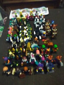 Lego Minifigures Bulk lot, - 83 characters,from many series,new. See description