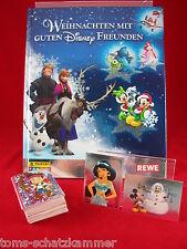 REWE Weihnachten mit guten Disney Freunden Satz komplett + Album = alle Sticker