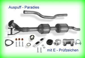Katalysator für VW Sharan 2.0 TDi 85KW-130KW Typ 7N Mc: CFFA/B/E CFGB/C CUVA+Kit