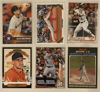 ⚾️Alex Bregman 6-CARD LOT including ROOKIE 2017 Topps Bunt #4
