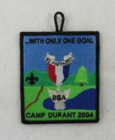 Camp Durant Occoneechee 421 Black Border Patch [B3343]