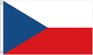 Czech Republic Polyester Flag - Choice of Sizes