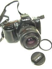 NMint Black MINOLTA MAXXUM 3xi 35MM CAMERA w/ 35-70mm f/3.5 AF Zoom Lens