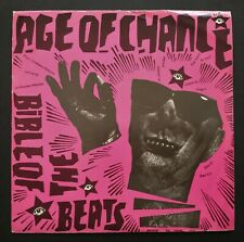 """Age Of Chance: Bible Of The Beats - 1985 Riot Bible Records 7"""" Vinyl Single"""