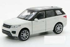 Range Rover Sport  Model Car White 1:32 Scale Diecast by Welly