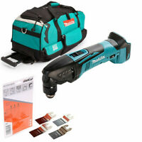 Makita DTM50 18v Oscillating Multi Tool With LXT600 Bag & 4 Pc Accessories