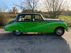 Armstrong siddeley sapphire 1959 project starts & stops solid car for age